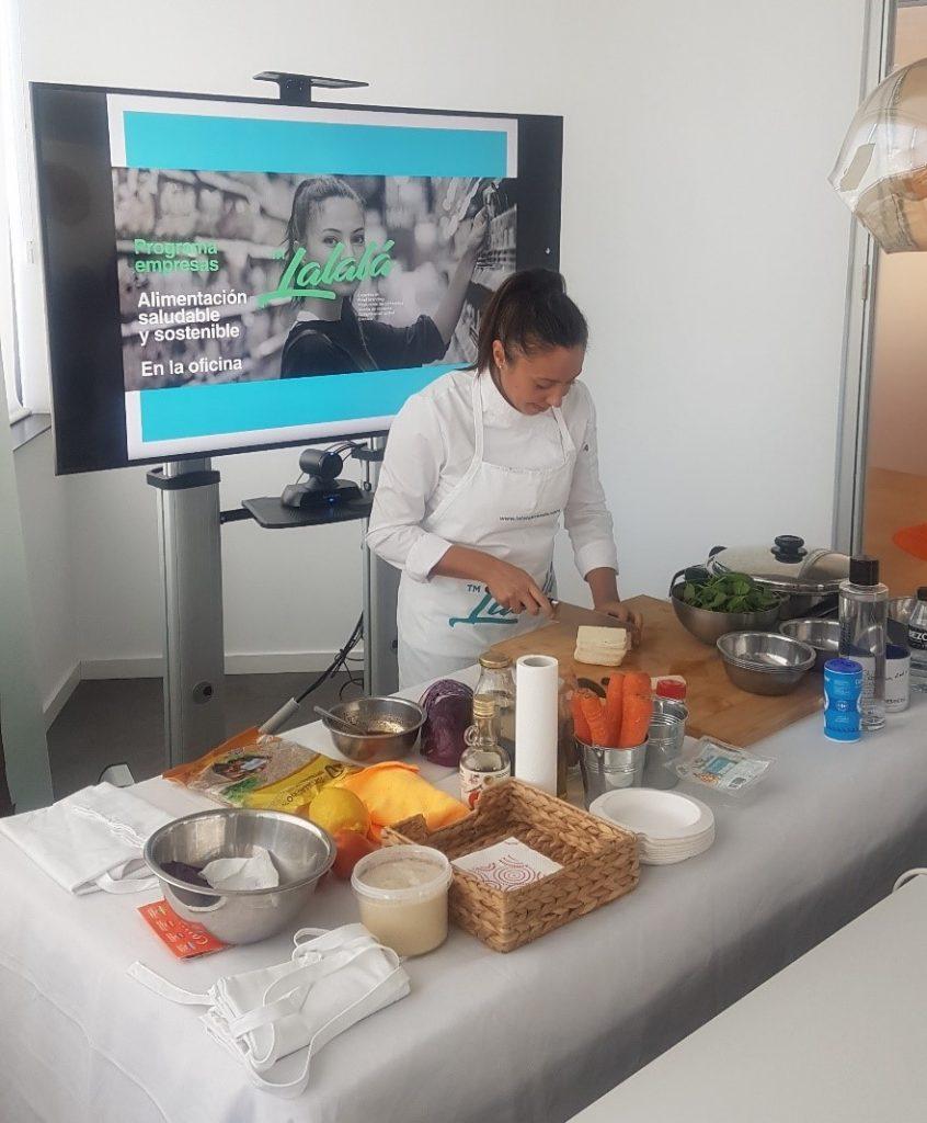 comida saludable oficina inteligente